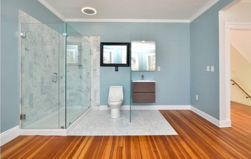 Open Concept Bathroom
