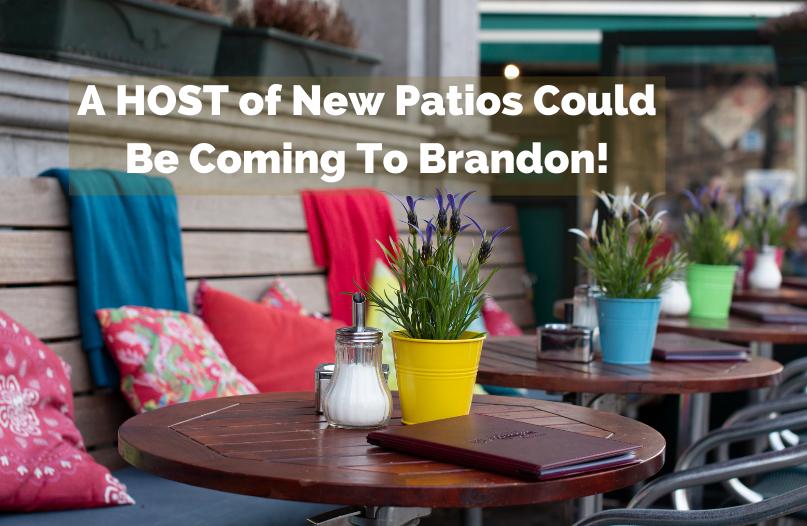 What LOCAL Restaurant Do YOU Want To See Put Together a Pop Up Patio?