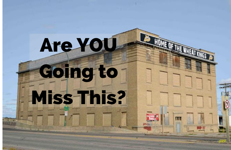 Some People seem to be upset that we're knocking it down - what would YOU have done with it?