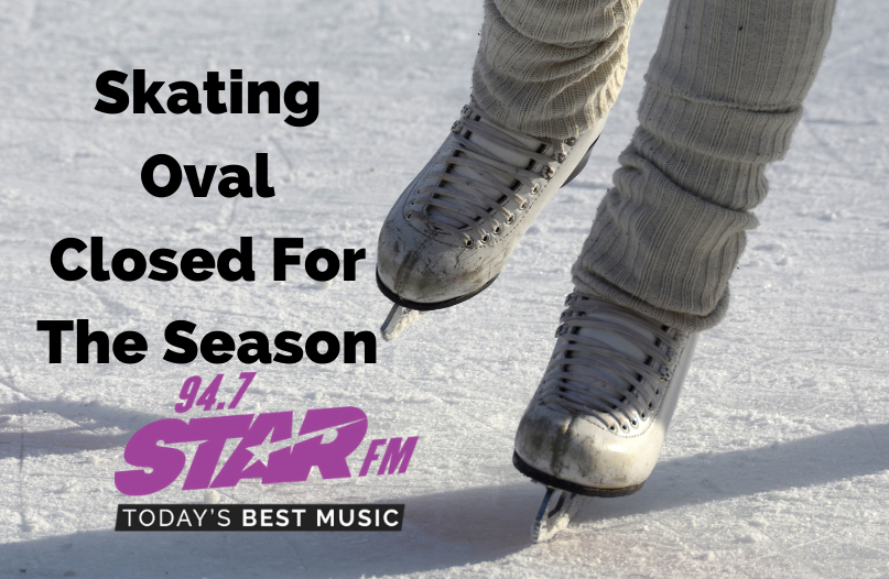 Skating Oval Closed For The Season