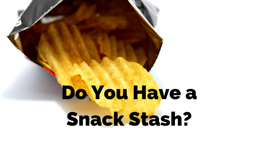Are a snack stasher? Where's your go to spot?