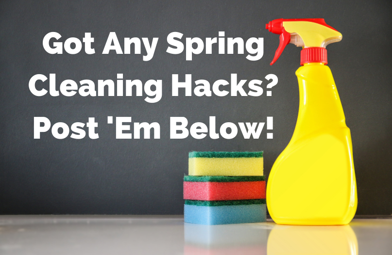15 Hacks For Spring Cleaning