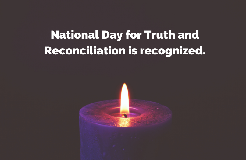 Federally regulated workplaces will now be closed on September 30th, as the first National Day for Truth and Reconciliation is recognized.