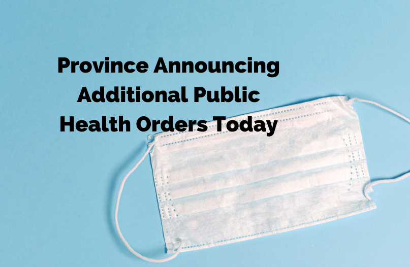 Yesterday the province said Premier Brian Pallister and Chief Provincial Public Health Officer Dr. Brent Roussin would be holding a news conference at 12:30 p.m. Monday