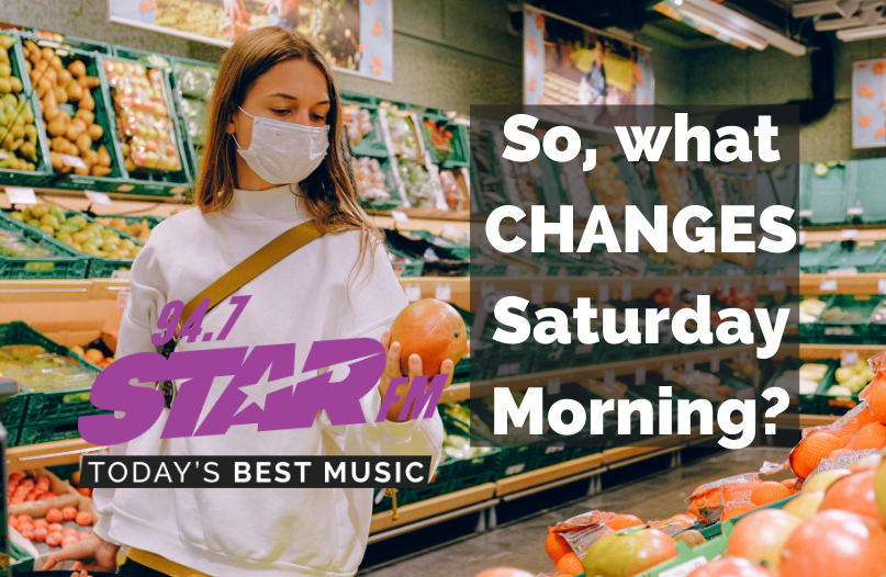So, What CHANGES Saturday Morning?